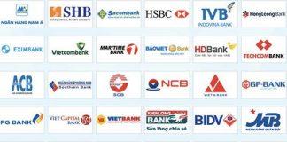 Danh sách ngân hàng ở Việt Nam