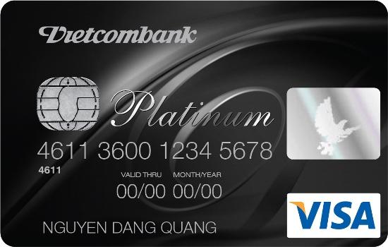 Thẻ Vietcombank Visa Platinum