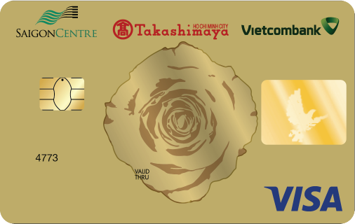 thẻ Takashima - Vietcombank