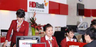 Lãi suất vay tín chấp ngân hàng HDBank ở mức 0,93%/tháng